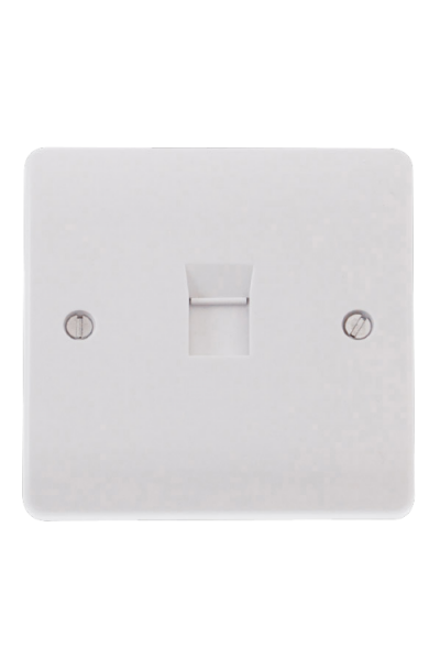 RJ45 1 WAY FACE PLATE