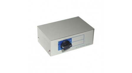 2 Port Manual USB Data Switch Box, 1B to 2A Type