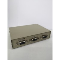2 Port Serial RS232 Manual Data Switch Box