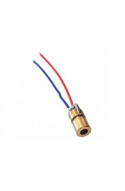 Laser Diode 650nm 5mW 3V Dot Red Light