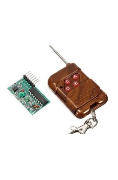 315mHz 4 Channels Wireless RF Module with Remote Control