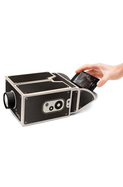 Smartphone To Cinema Projector