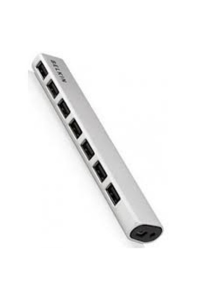 Belkin 7-Port USB 2.0 Hub, Ultra-Slim Aluminium Series