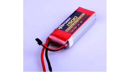 LPB 11.1V 1500mAh LiPo Battery, 3S, 25C, 3 cell, T Plug