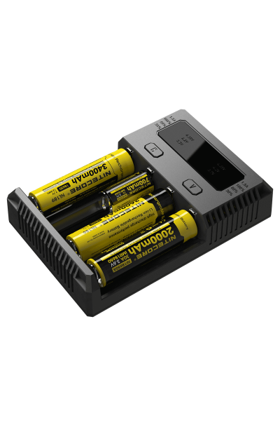 NITECORE I4 INTELLICHARGER FOR LI-ION / NIMH NICD 18560 500 350 AA AAA C