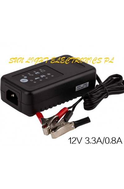 12V Lead Acid Battery Charger For SLA,AGM,GEL,VRLA Battery Charge 4 stages,MCU Control