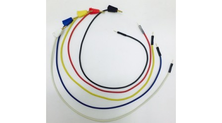 2mm Banana Plug to Male Pin Jumper wire, Length : 350 MM