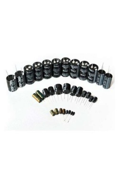 Aluminun Electrolytic Capacitors Starter Pack - 42 Value
