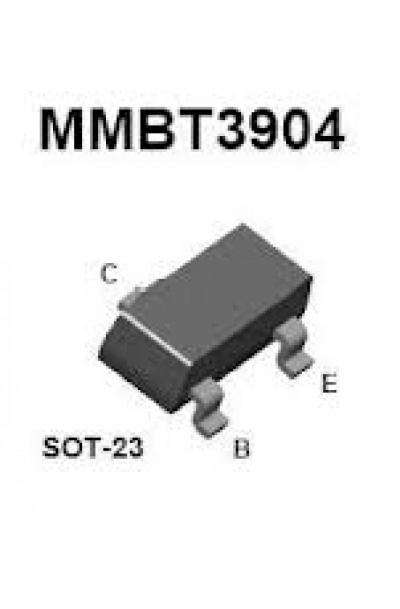 MMBT3904WT1G  TRANSISTOR, NPN, SOT-23 - 100 per Pack