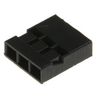 "0.1"" (2.54mm) Crimp Connector Housing: 1x3 10-Pack"
