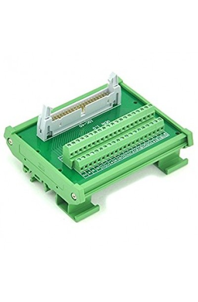 40 Way IDC interface module - Din Rail Mounting