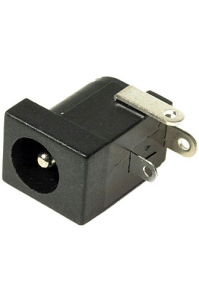 DC Power Connector, Jack, 5 A, 5.5 X 2.1 mm, Through Hole Mount