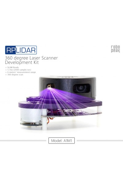 360 Degree Laser Scanner Development Kit (RPLIDAR)