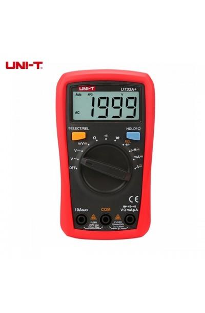 UNI-T UT33A+ Digital Pocket Multimeter