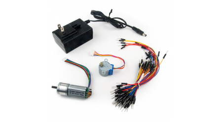 Basys MX3 Lab Bundle - Companion Parts Kit for the Basys MX3 and PIC32MX370 Coursework