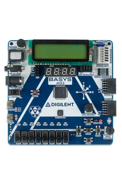 Basys MX3: PIC32MX Trainer Board for Embedded Systems