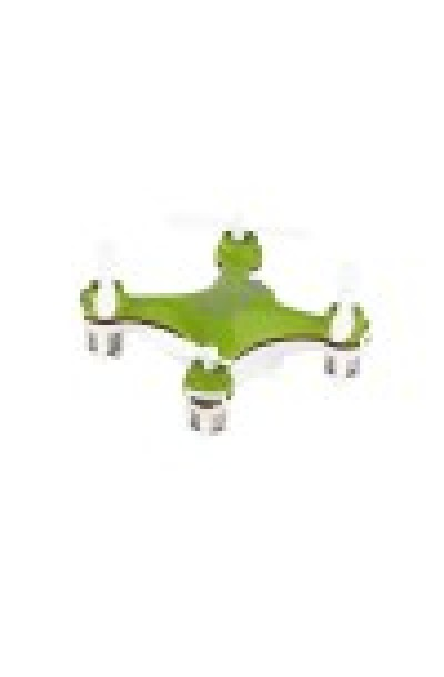 The Smallest Quadcopter in History (Green)