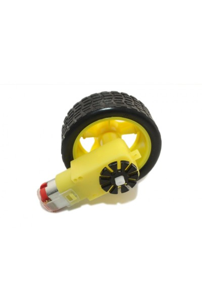 Motor And Wheel Combinations