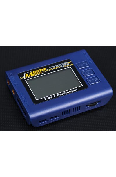 7 in 1 Mega Meter Battery Checker/Watt Meter/Servo Tester