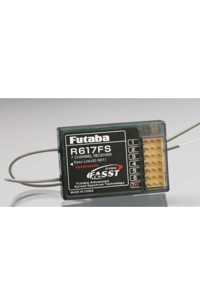 Futaba R617FS 2.4GHz 7-Channel Receiver