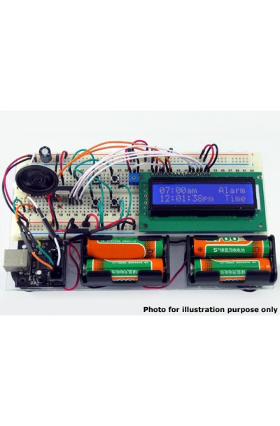 Educational LCD Display Electronics Programming Training Kit