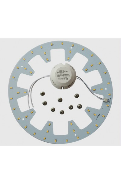 Round 24W LED Ceiling Light PCB Led Plate