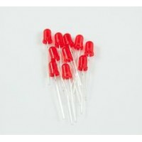 LED - Basic Red 5mm (25 Units/Pack)
