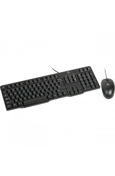 Logitech MK100 Classic Keyboard (PS/2) & Mouse (USB)