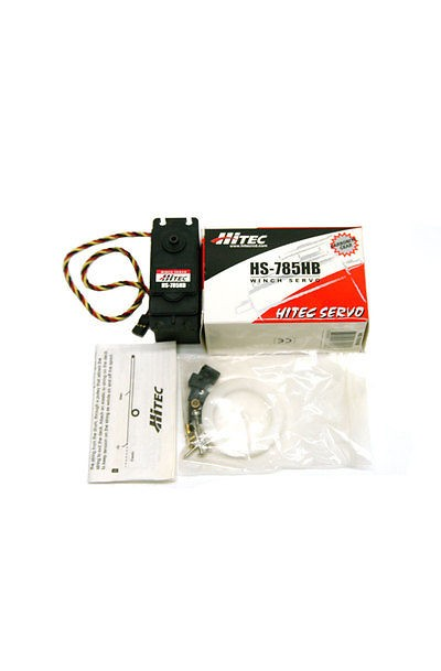 Hitec HS-785HB Quarter Scale Winch Sail Servo Motor (Karbonite Gear)