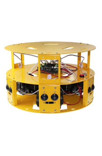 3WD OMNI-DIRECTIONAL ARDUINO COMPATIBLE MOBILE ROBOT