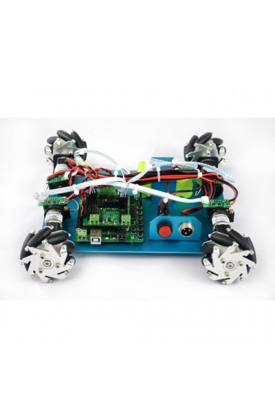 Wd mm mecanum wheel arduino robot kit
