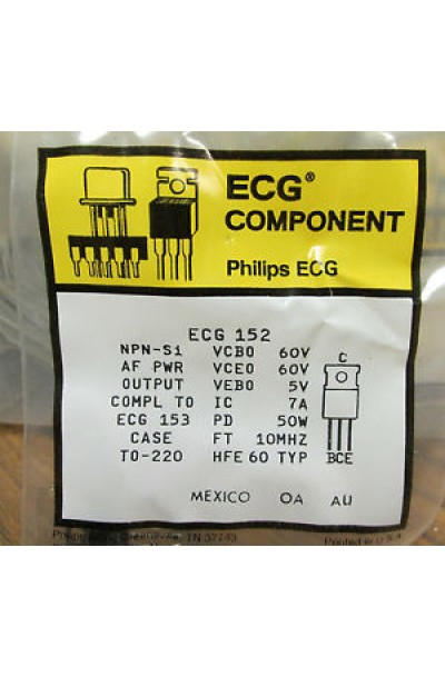ECG AD620N COMPONENTS KIT