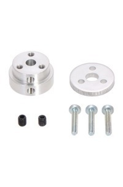 Pololu Aluminum Scooter Wheel Adapter for 5mm Shaft