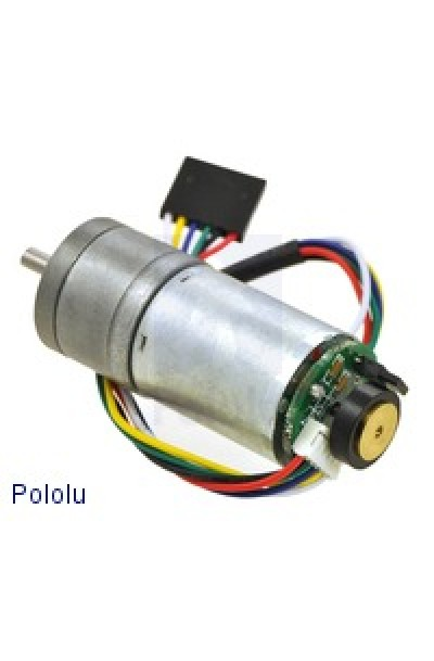 47:1 Metal Gearmotor 25Dx52L mm with 48 CPR Encoder