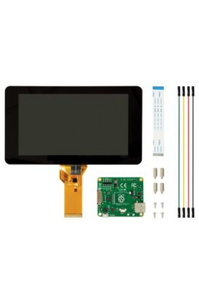 "RASPBERRY-PI  RASPBERRYPI-DISPLAY  Raspberry Pi 7"" Touch Screen Display with 10 Finger Capacitive Touch"