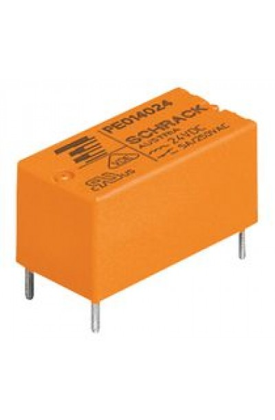 General Purpose Relay, PE Series, Power, Non Latching, SPDT, 5 VDC, 5 A, 5 Pins