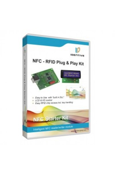 RFID-NFC Plug & Play Kit with LCD