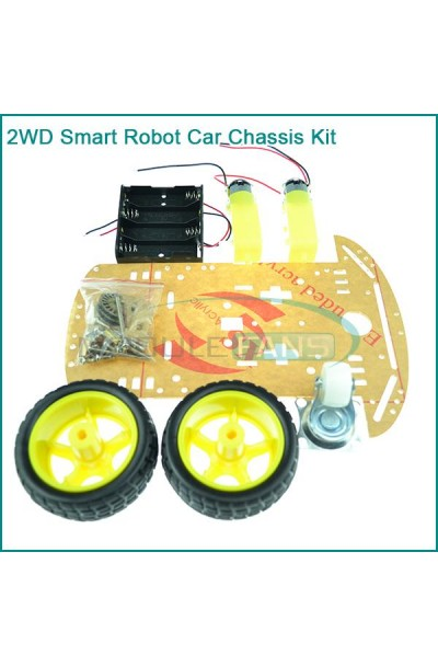 2 WHEEL DRIVE ROBOT CHASSIS KIT SMART CAR