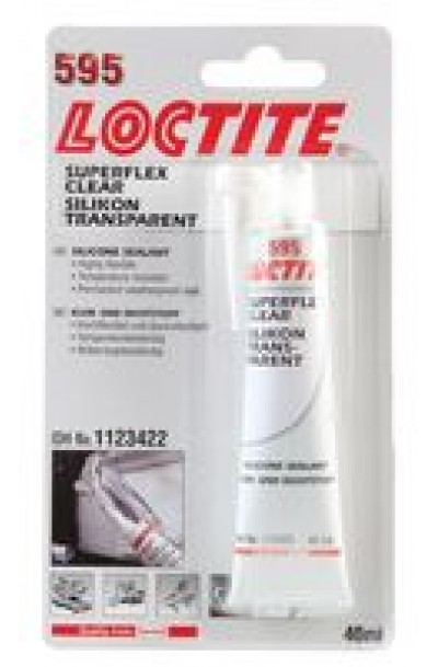 LOCTITE  595  Sealant, Silicone, Superflex, Tube, Clear, 100ml
