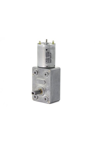 ASLONG JGY-370 24V DC, 6RPM Worm Gear Motor