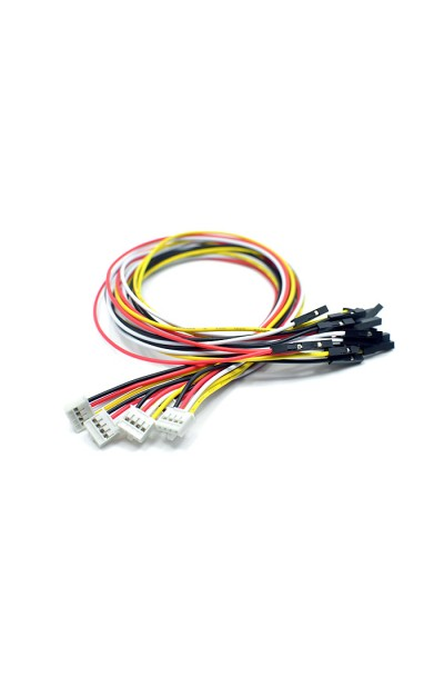 Grove - 4 pin Female Jumper to Grove 4 pin Conversion Cable - 20CM (5 / Pack)