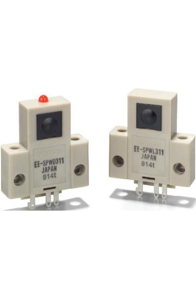 Optical Switches, Transmissive, Phototransistor Output 1M SD T-BEAM PMS DET ECTOR D-ON