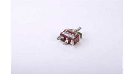 (ON)-OFF-(ON) 3 Position SPDT toggle switch WITH SCREW TERMINAL