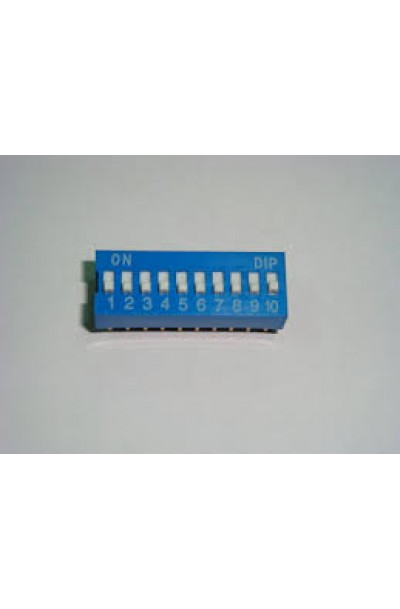 DIP SWITCH 10 WAY