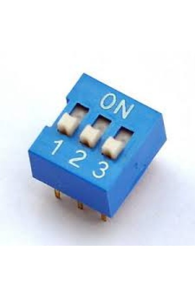 DIP SWITCH 3 WAY
