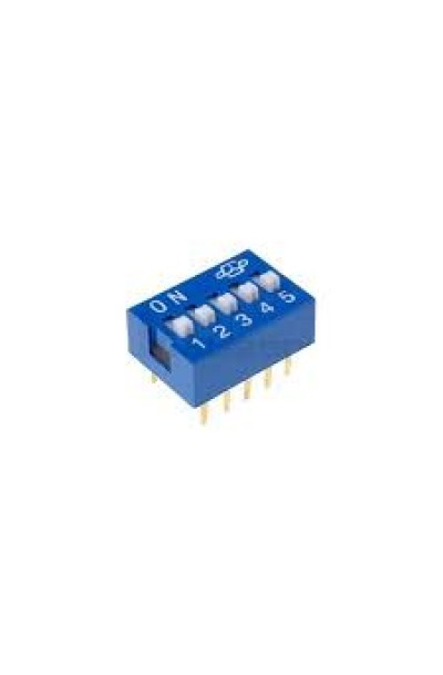 DIP SWITCH 5 WAY