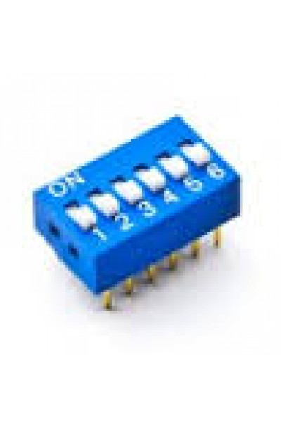 DIP SWITCH 6 WAY