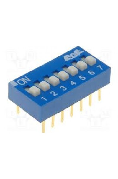 DIP SWITCH 7 WAY