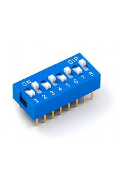 DIP SWITCH 8 WAY