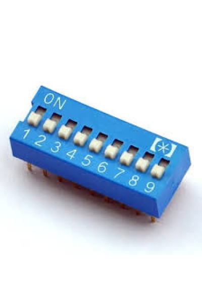 DIP SWITCH 9 WAY